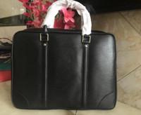 뜨거운 판매 새로운 B 브랜드 망 비즈니스 가방 서류 가방 브랜드 이름 가죽 남성 가방 정품 가죽 지갑 디자이너 숄더 가방 큰 크기