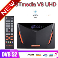 Gtmedia V8 UHD DVB-S2 / S2X T / T2 / Cabo / Atsc ISDBT TV Satellite Receptor Construído em WiFi Powered by Gtmedia Upgrade Receptor Freesat V8 UHD