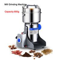 DHL tarafından ücretsiz kargo 800g kahve kuru gıda değirmeni değirmen öğütme makinesi gristmill ev tıp un tozu kırıcı taneleri