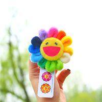 Pins Pins Giappone Sun Flower Brooches Trend Moda Giocattoli Accessori Sorriso Round Sorriso Doll Studente Vendita calda Nuovo arrivo 2 4mxa m2