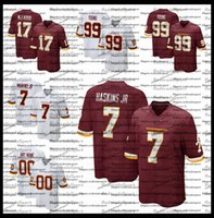 2021 New Herren 21 Sean Taylor 7 Dwayne Haskins Jr. 99 Junge Junge 17 Terry Mclaurin Ryan Kerrigan Alex Smith Team Football Jerseys AC1
