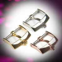 Yeni Moda İzle Aksesuarları Paslanmaz Çelik Malzeme Rolex Pin Toka Kemer Toka Için 16/18 / 20mm