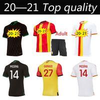 20 21 Дом Футбол Джетки Grackit Virtes Cahuzac Perez 2022 2021 RC Линза Maillot ногой Camisa de Futebol Мужские футболки футбола