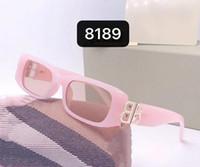 Yeni Lüks Kadınlar 8187 Güneş Gözlüğü Moda Tam Çerçeve Bayanlar Vintage Retro Marka Tasarımcısı Boy Kadın Eğlence Güneş Gözlükleri Gelgit Kutusu ile