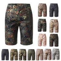 Alto esterno Woodland Caccia Shooting Battle Dress Dress Uniform Tactical BDU Army Combat Abbigliamento Quick Dry Pants Camouflage Shorts NO05-011