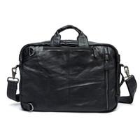 HBP Westal мужской портфель сумка мужская натуральная кожаные офисные сумки для мужчин ноутбук сумка кожа посыльный портфель мужчин