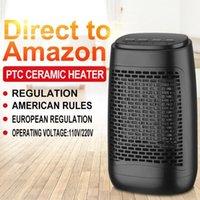 Réchauffeur de ventilateurs pour la maison Mini chauffage électrique Home Chauffage électrique Ventilateur d'air chaud Chauffe-temps Chauffe-temps Handy Air Warmer Yakne1