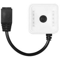 EP7000 Mini 1D / 2D / QR Barcode-Scanner CMOS IE-Modul für Zugangskontrollstelle Elektronische Scanner RS232 EU-Plug1