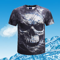 Hot Sell T-shirts Nouveau T-shirts Crâne Fashion Man Top Shirts Tops Tops Boyes Hommes T-shirt Skull Imprimer Camo T-shirt