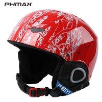 Skihelme Phmax Winter Kids Helm Kinder Atmungsaktive Snowboard Jungen Mädchen Outdoor Sports Halten Sie Warm Skifahren Skiting Kopf Wear1