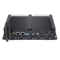 Fanless Industrial Mini PC Intel 4200U Windows 10 Linux 6xrs232 Dual NIC VGA 4G LTE WiFi 4xUSB Computer economico1