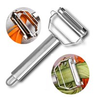 Stainless Steel Multifunctional Potato Peeler Grater Slicer Cutter Vegetables Fruit Carrot Slicer Kitchen Cooking Tools WQ670