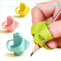 실리콘 연필 그립 학교 용품 어린이 학생 눈동자 초급 아티팩트 펜 홀더 튼튼한 쓰기 녹색 학습 장난감 뜨거운 판매 0 28xn m2