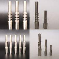 Collector de nector de punta de titanio duradero 10 14 18 mm Cigarette de metal Nail Fit Gadget de fumar Venta caliente Top 13BS E19
