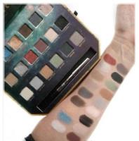 Stock Solde !! Popular Lorac Pirates Palette ombre à pépins 18 couleurs Cosmétiques Palette de maquillage Pirates avec crayon Eyeliner pour cadeau de Noël