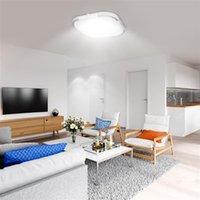 Hot Sale 85-265V LED Takljus Fyrkantig Formlampor Vardagsrum Sovrum Lampa Stepless Dimma (18W) Hög ljusstyrka Taklampor