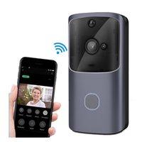 WIFI-Türklingel-Video-Türsprechanlage 720P HD drahtloser Smart Home IP-Türen Glocke Kamera Sicherheitsalarm IR-Nachtsicht