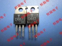 Original 2SD687 D687 2SD743 D743 2SD762 D762 2SD768 D768 2SD799 D799 2SD836A D836A 2SD837 D837 2SD843 D843 bis-220