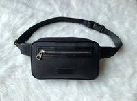 Мужские женские сумки унисекс мужчины женские кожаные спортивные Fanny Pack Belly талия Bum сумка фитнес бегущий ремень бег мешок спина GU22014 #