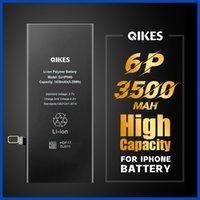 بطارية عالية السعة لفون 6plus x xs ماكس 11 برو ماكس باتاريا استبدال بطارية الهاتف المحمول ذات سعة موبايل بقدرة حقيقية لفون 6P