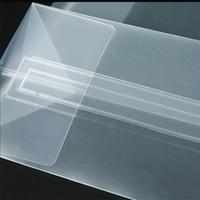 Frosted PP-Kunststoff-Geschenk-Tasche wasserdicht klare PVC-Weihnachts-Wickel-Handtasche transparente Mode-Tasche-Verpackung Sack heißer Verkauf 1 88GC G2