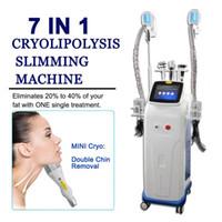 7in1 Криолиполиза Жир морозная вакуумная машина для похудения Кавитация Systerm Снижение потери веса Потеря красоты оборудование Body Shaper