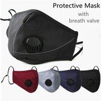 Con la nuova maschera FA Anti-polvere Earlip Earliops respirazione regolabile la bocca riutilizzabile morbida antipolvere antipolvere maschere protettive