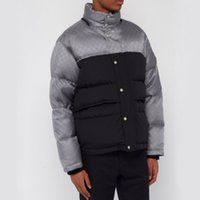 20FW Made In Italy Color Matching Reflective Stripes Sleeves Down Jackets Winter Warm Outdoor Coats Fashion Men Women Outwear HFHLYRF068