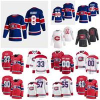 Montreal Canadiens 2021 Reverse Retro Jersey Lehkonen Arturi Lindgren Charlie McNaven Michael Mete Victor Olofsson Gustav Cucito personalizzato