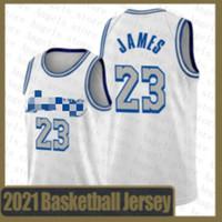 ليبرون 23 جيمس كرة السلة جيرسي 2020 2021 جديد ستيفن 30 كاري جايسون 0 تاتوم جا 12 مورانت دويان 3 واد أنتوني 1 إدواردز