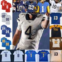 Pittsburgh Panthers Football Jersey NCAA College Jaylen Twyman Deslin Alexandre Johnson Baldonado Davis Tipton Griffin-Stewart Mathews