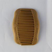 الشحن مجانا جودة عالية متعددة الوظائف 10 * 6 سنتيمتر نمط خشبي مشط الشعر البلاستيكية السحرية، النساء مقاطع الشعر اكسسوارات للشعر 15 J2