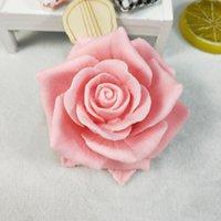 3d bello fiore rosa stampo in silicone bouquet di rose sapone stampi di sapone argilla in gypsum gypsum cioccolato candela stampo 201023