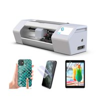 Otomatik Ekran Koruyucu Kesme Makinası Tam otomatik Cep telefonu ekran koruyucu film kesimi kesme makinesi özelleştirilmiş