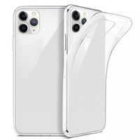 Para iPhone 12 Pro Mane MAX CUBIERTE ULTRA TRANSPARTE TRANSPARTE TPU SOFT TPU TABLE PARA IPHONE 12 MINI XS 8 7 PLUS CASOS