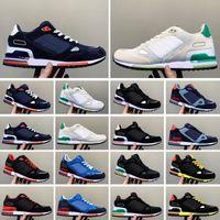 ZX750 2021 homens sapatos originais zx750 bluebird ardósia escura sneakers zx 750 homens mulheres preto vermelho tênis tênis tamanho 36-44