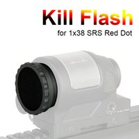 Nuovo Arrivo Tactical 38mm Kill Flash Metal Mesh Pellicola Protector per 1x38 SRS DOT RED CL33-0083