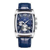 Toverwatchesonola трансграничный новый поступление мода бизнес многофункциональные мужские кварцевые часы мужские водонепроницаемые пояс часы