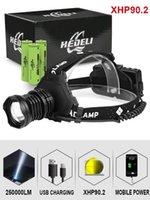 Фары 300000 LM XHP90.2 Светодиодная фара XHP90 High Power Head Hear Torch USB 18650 перезаряжаемый XHP70 Light XHP50.2 ZOOM HEADLAMP1