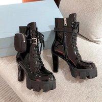 2021 Новые Женщины Дизайнеры Rois High High Cartened Boots Лодыжка Нейлон Показать Стиль Бойник Ботинок и Мартин Сапоги Дизайнеры Чехол Прикрепленные лодыжки