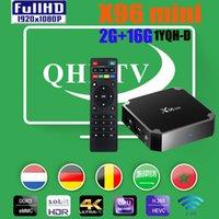 좋은 안정 x96 미니 스마트 안드로이드 TV 박스 Amlogic S905W 2GB RAM 16GB ROM WIFI 셋톱 박스 X96MINI vs x96Q MXQPRO TX3
