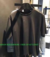 2020ss Moda Mektup Tasarım erkek Rahat Pamuk Kısa Kollu T Shirt Kadınlar Slim Asya Boyutu S-XXL