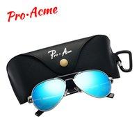 Pro Acme Marca óculos de sol polarizados para crianças e juventude adulto pequeno rosto mulheres homens juniors piloto sol glasse 3 tamanho pa1053