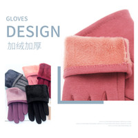 VIPGloves autumn and women Plush warm touch screen points to...