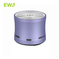EWA A109 Mini altoparlante Bluetooth Bluetooth High-Def Sound Remote Player TF TF Player Player Wireless Metal Portatile Speaker
