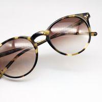 LvlouisVittonlv Ray Uv400 Bans pour Gregory Friday Round Acétate EO4K Men Men Marque Designer Noir Peck 2021 Vintage lunettes de soleil lunettes de soleil