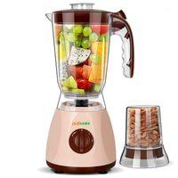 Dole portátil Multi Fruit Juicer Machine com 2 xícaras 2 facas Soja Máquina de leite Moedores de carne de moagem seca Auto Mini Blender1