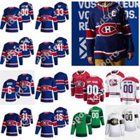 Montreal Canadiens 2021 Reverse Retro Hockey Jerseys 31 Carey Prezzo 14 Nick Suzuki Guy Lafleur Brendan Gallagher Shea Weber personalizzato cucito