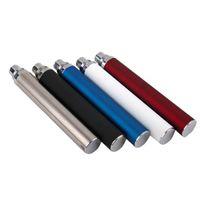 Evod préchauffer VV Vaporisateur Batterie 900MAH 1100mAh Voltage variable E Cigarette 510 Filetage Vape Pen E-CIG Chargeur USB EGO-T MT3 CE4 CE5