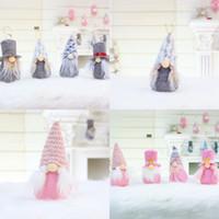 Серые рождественские безбытные куклы украшения Детская комната спальня белая борода кукла игрушка украсить новый шаблон 3 9QY J2